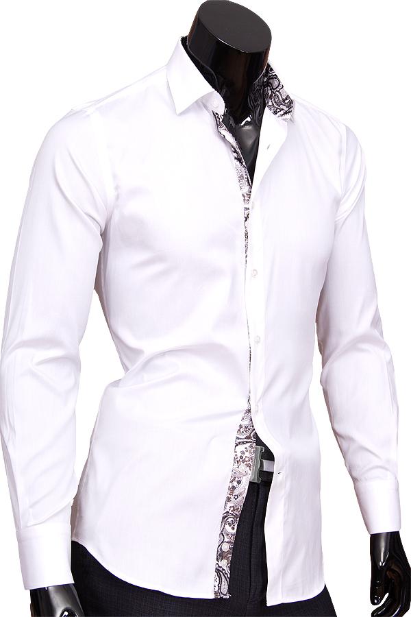 Хлопковые рубашки мужские белые