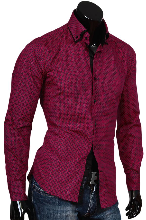 Полуприталенные мужские рубашки фото