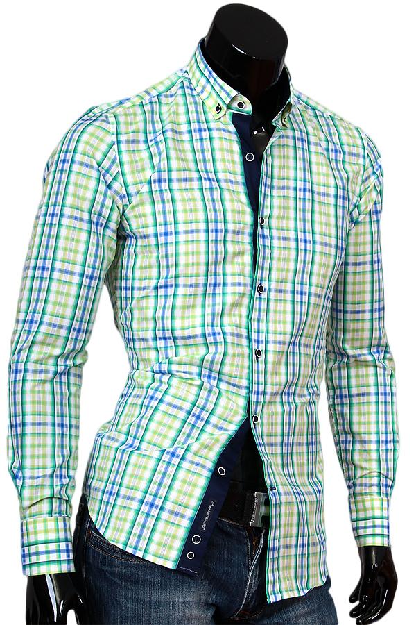 Полосатые рубашки мужские фото