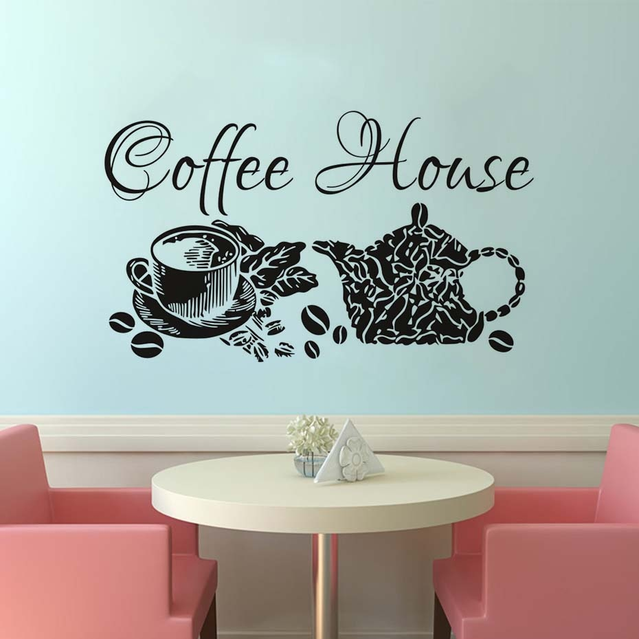 Виниловые наклейки для кафе