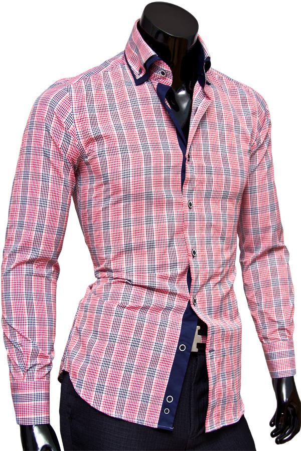 Рубашки мужские 100% хлопок фото