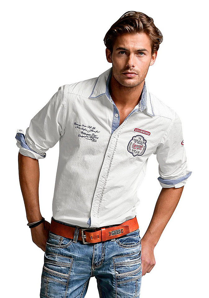 Летняя мужская рубашка фото