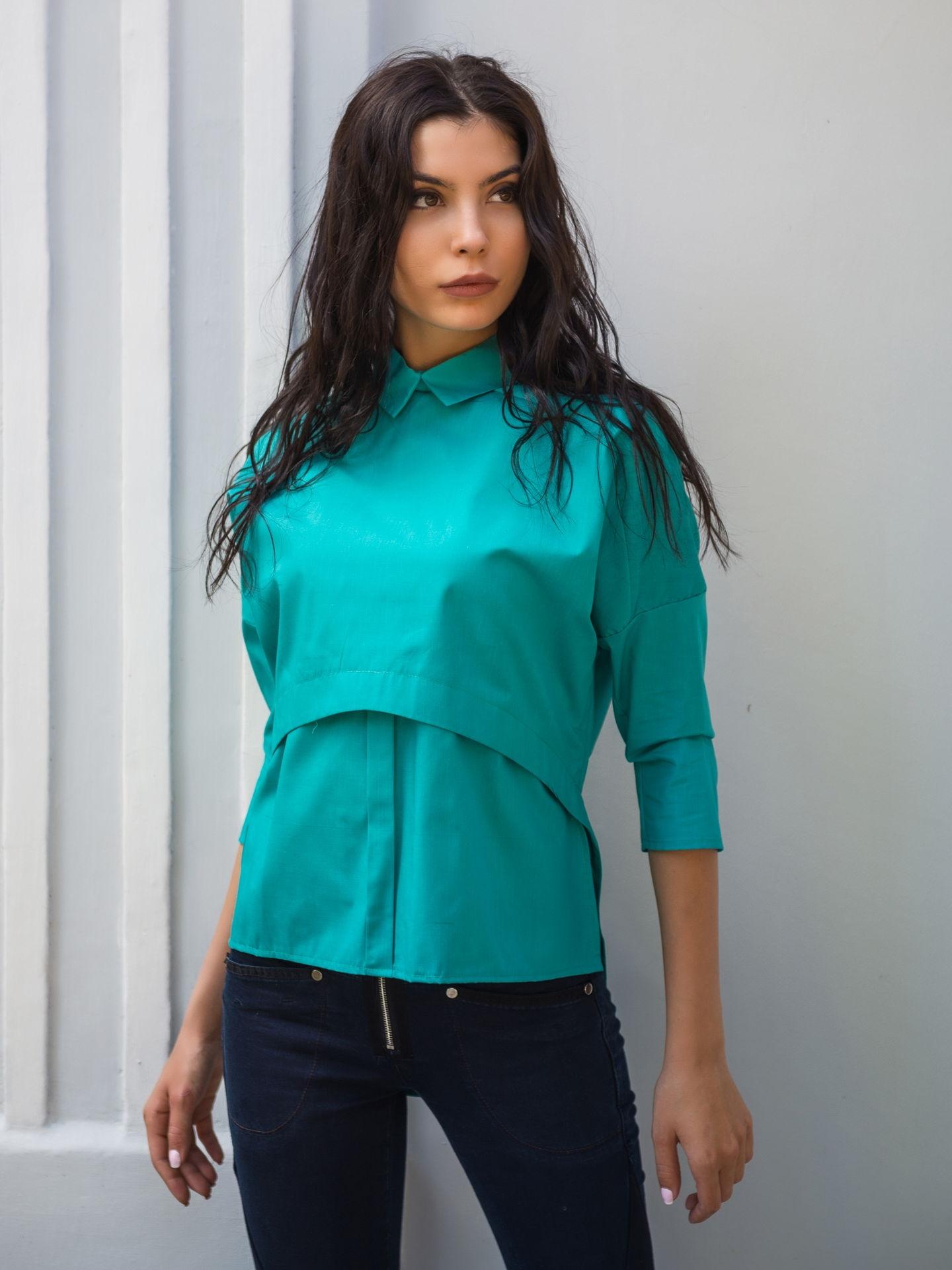 Необычные рубашки женские фото