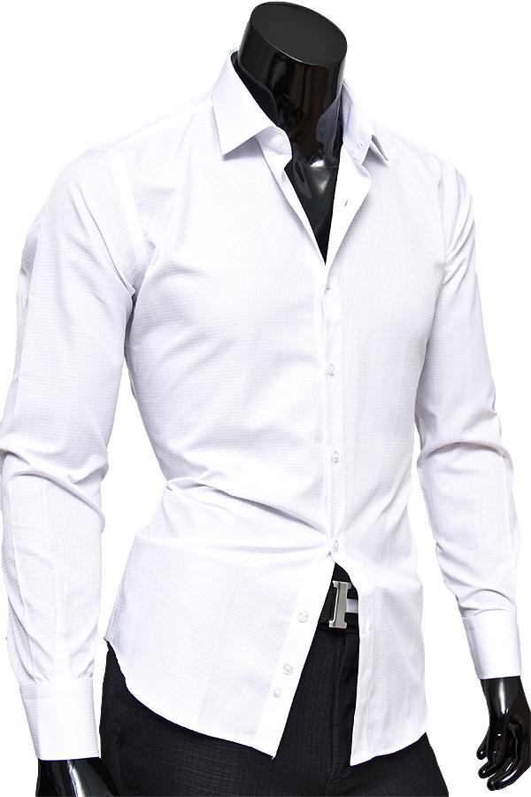 Мужская белая рубашка купить москва