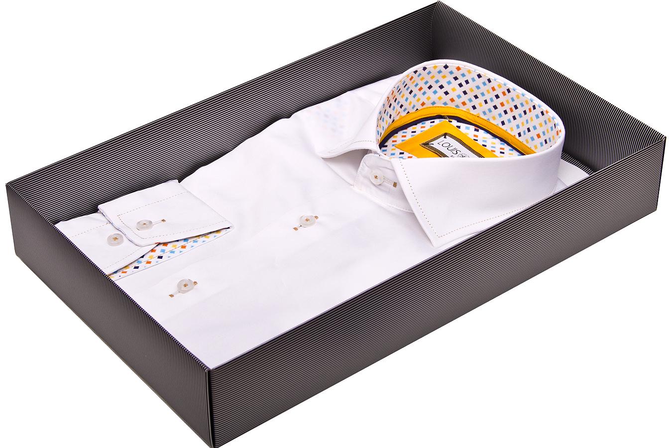 Классические белые рубашки мужские фото