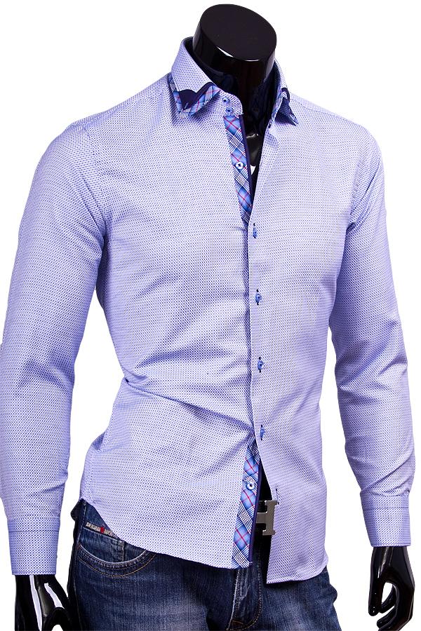 Мужские рубашки в горох
