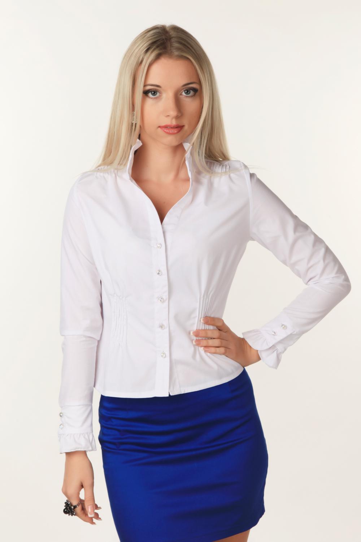 Офисные женские рубашки фото