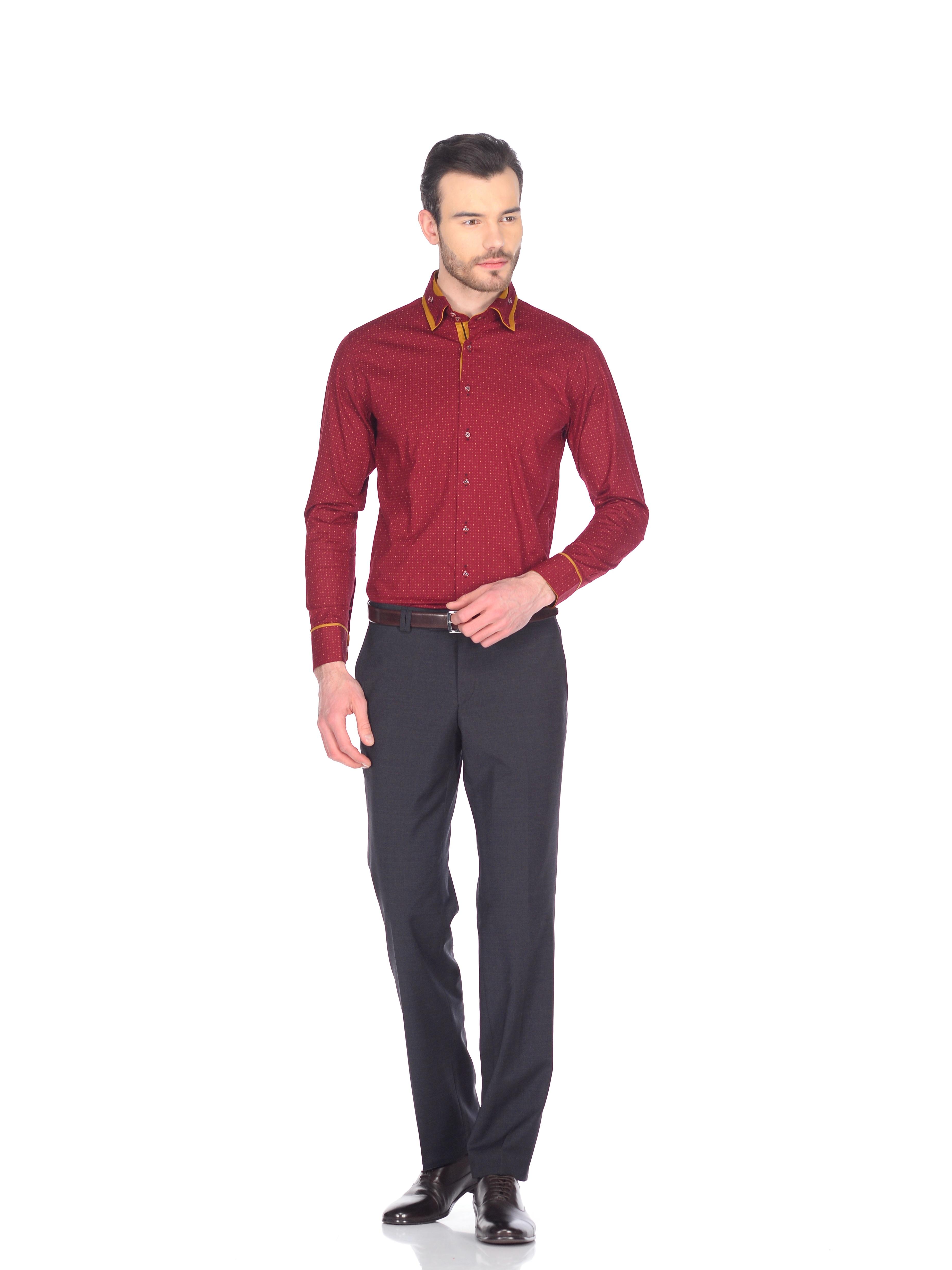 Приталенные рубашки: как и с чем носить?