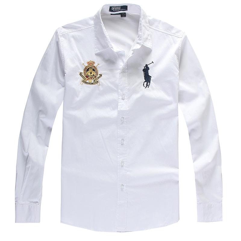 Ralph Lauren рубашки мужские фото