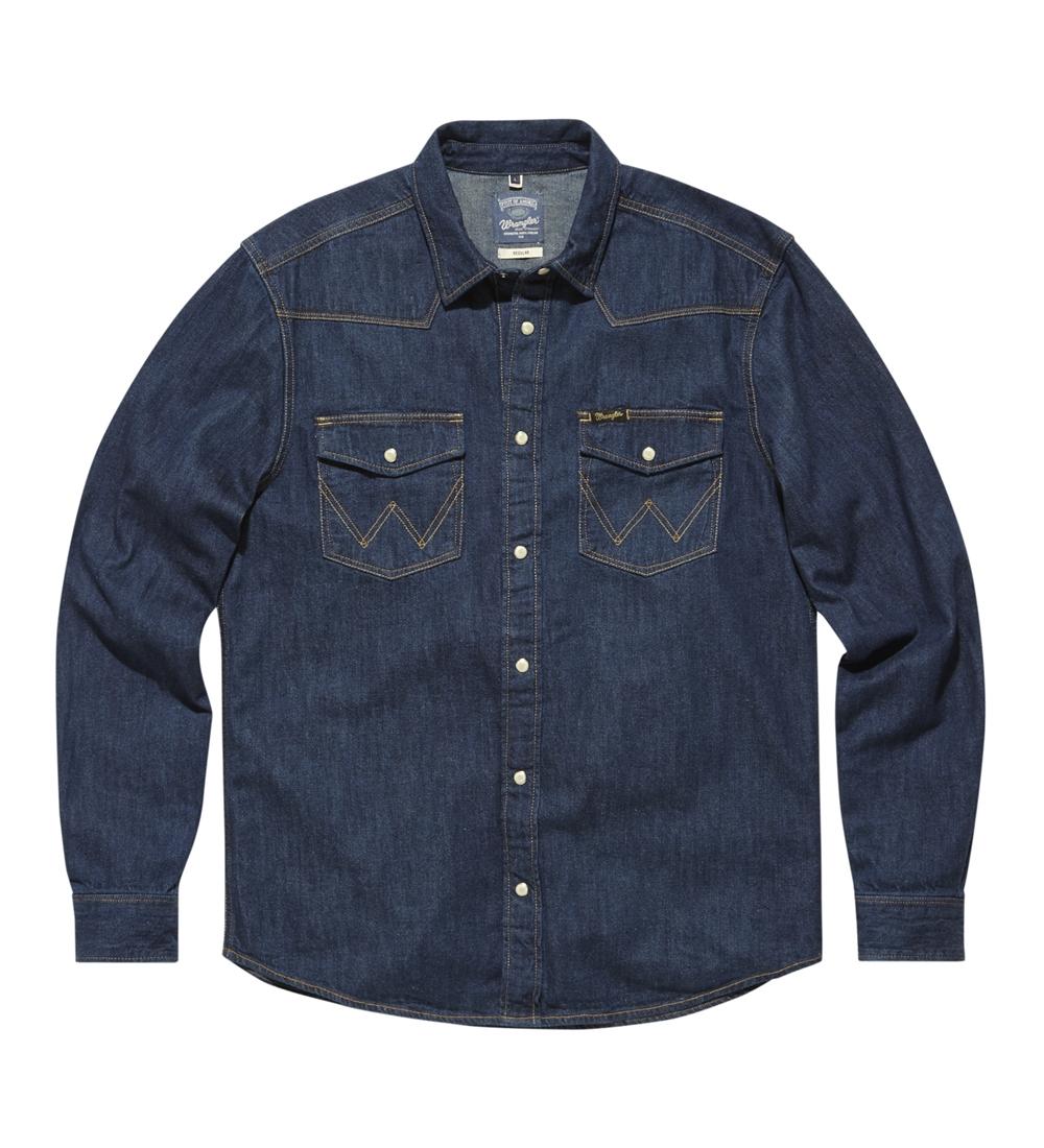 Рубашки мужские Wrangler фото