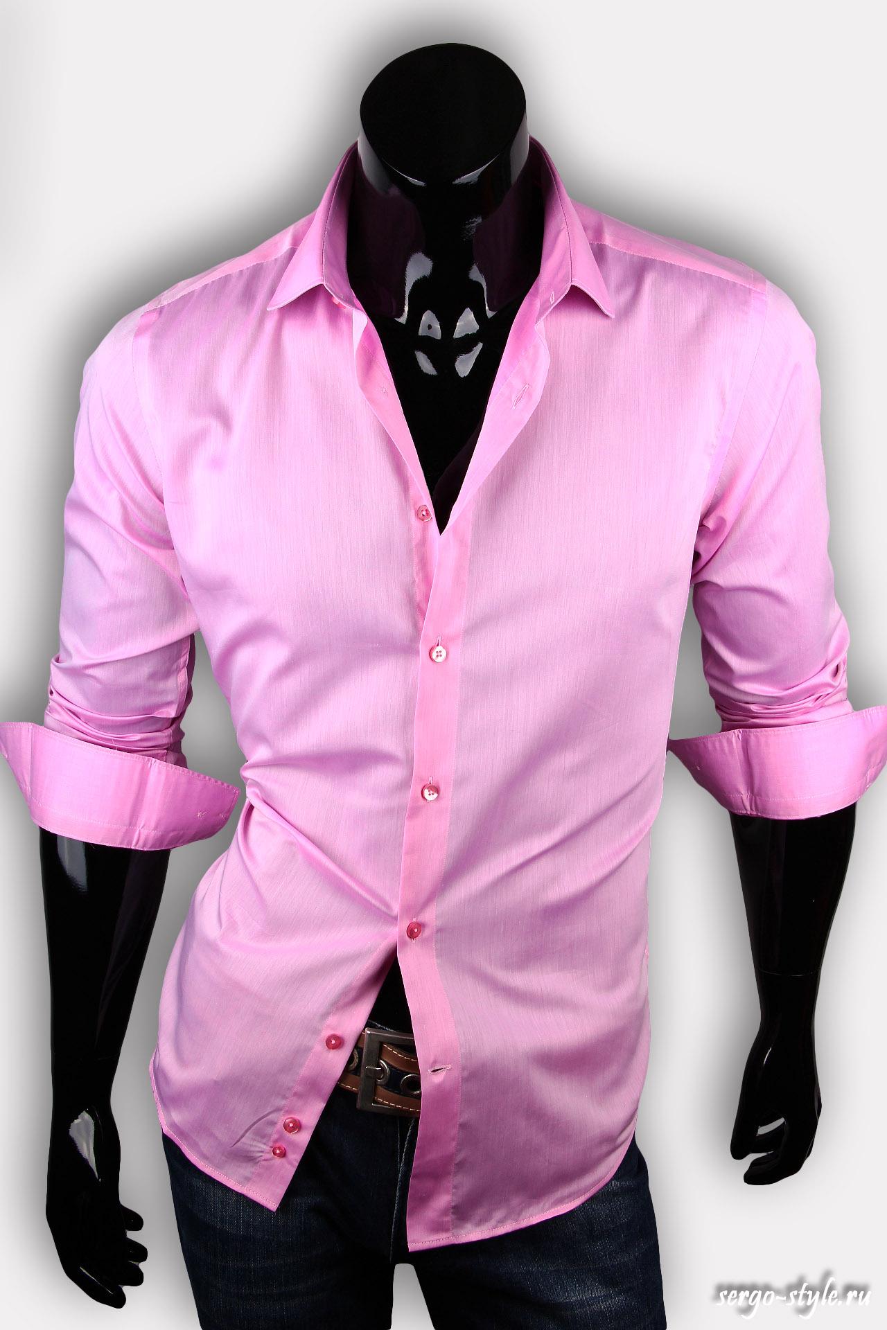 Мужская рубашка - мужские приталенные. рубашки мужские приталенные в Одинцо
