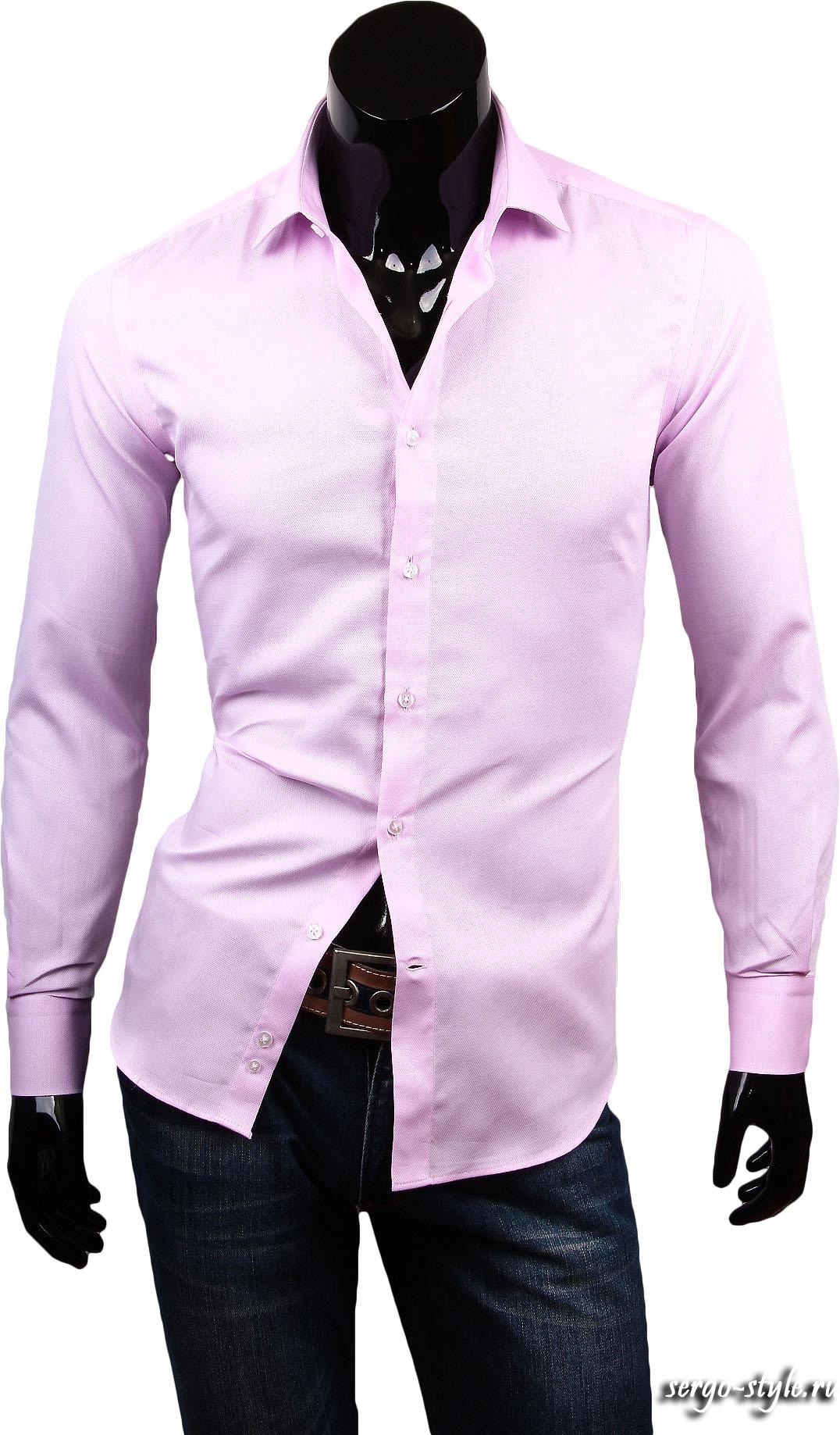 Стильные розовые рубашки