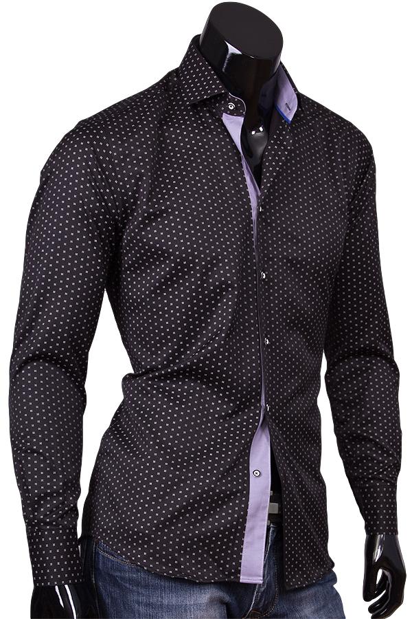 Черные мужские рубашки