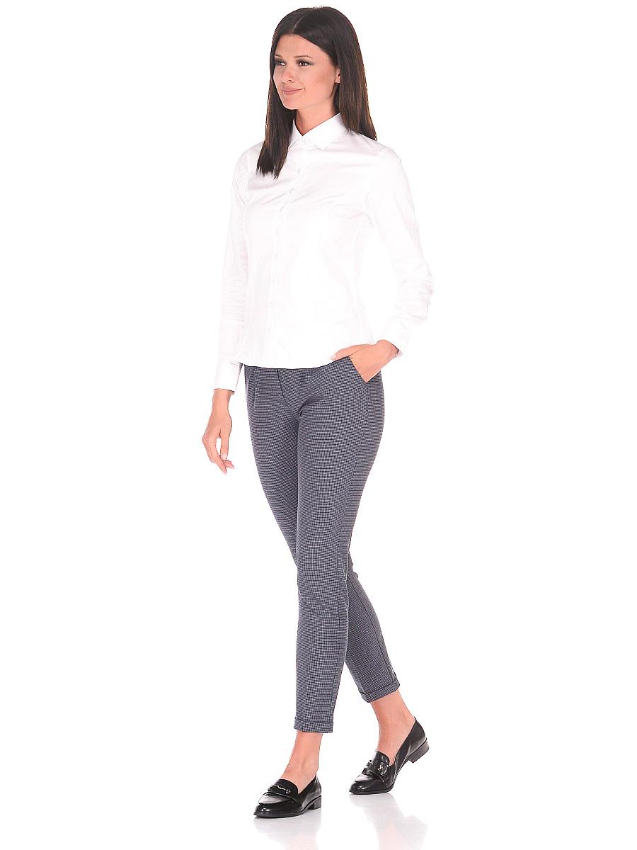 c0827f54057 Женская рубашка Venturo приталенная цвет белый однотонный купить в Москве  недорого
