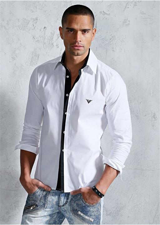 Современные рубашки мужские
